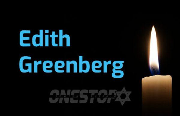 Edith Greenberg