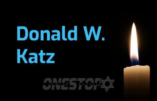 Donald W. Katz