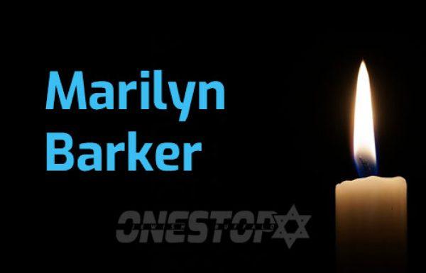 MARILYN BARKER